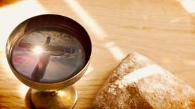 Communion Cross with Jesus