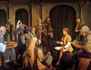 Jesus in the Temple Twelve