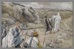 Jesus Rebukes Peter Behind Me Satan