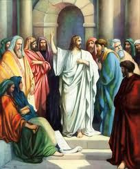 Jesus Teaching in the Synogague
