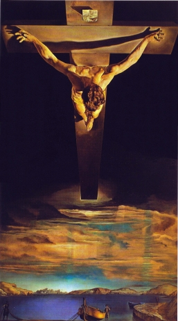 Christ of St John on the Cross Salvador Dali