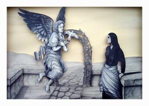 Gabriel Visits Mary