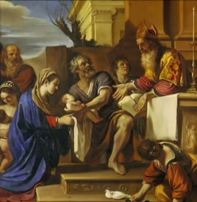 Jesus presented in the Temple Simeon