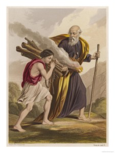 Isaac Carries the Wood
