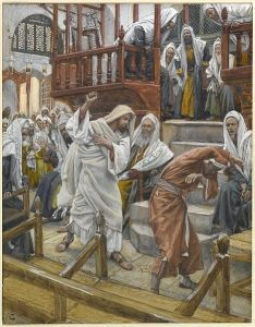 Jesus heals a Demonic at Capernaum