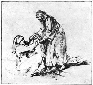 Jesus heals Peter's Mother-in-law 1