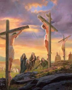 Jesus Crucified 1