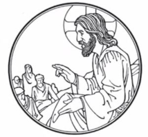 Small Catechism - Third Commandment Icon