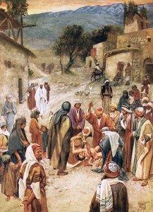 Jesus Heals the boy with an unclean spirit, Help My Unbelief Mark 9