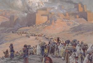 Captives Leave Jerusalem