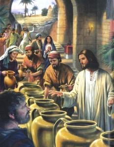 Water into Wine Jesus Christ