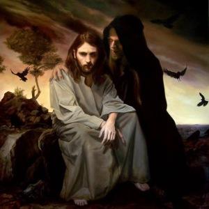 Temptation of Jesus Modern