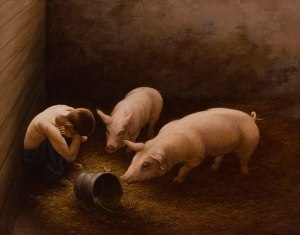 Prodigal with the pigs