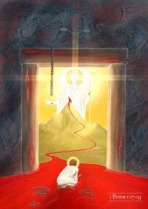 jesus-lamb-slain-silver-gold