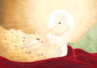 Bride of Christ Full of Eyes