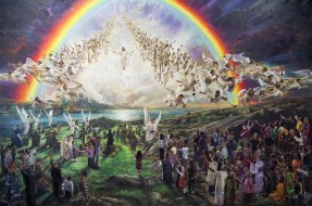 Christ Returns in Power and Glory