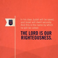 Jeremiah 23_6 Righteousness