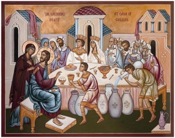 Jesus Turns Water into Wine John 2