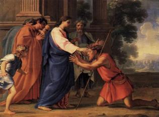 Jesus Heals Bartimeaus