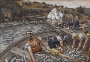 Catch of Fish from Luke 5