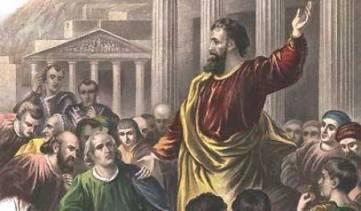 Peter Preaches on Pentecost