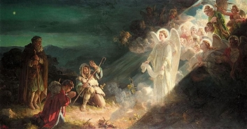 Glory appears to the Shepherds