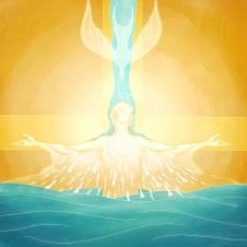 Matthew 3_17 - Baptism of Jesus Holy Spirit Dove